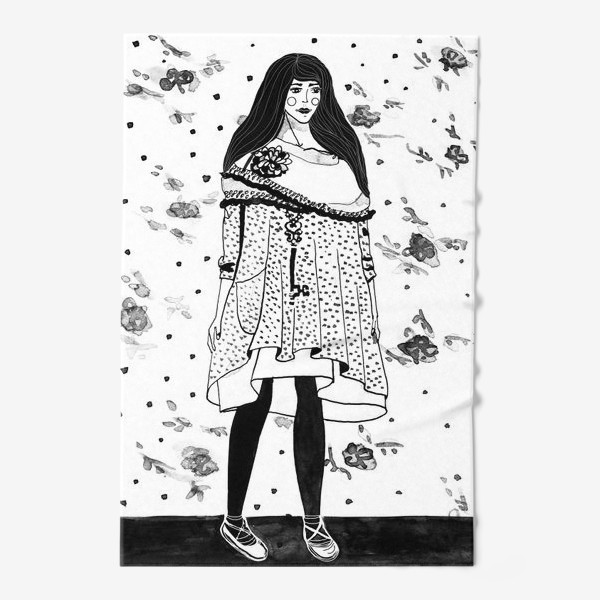Полотенце «Алиса в стране чудес»