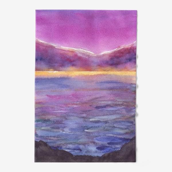 Полотенце «закат на море 2»