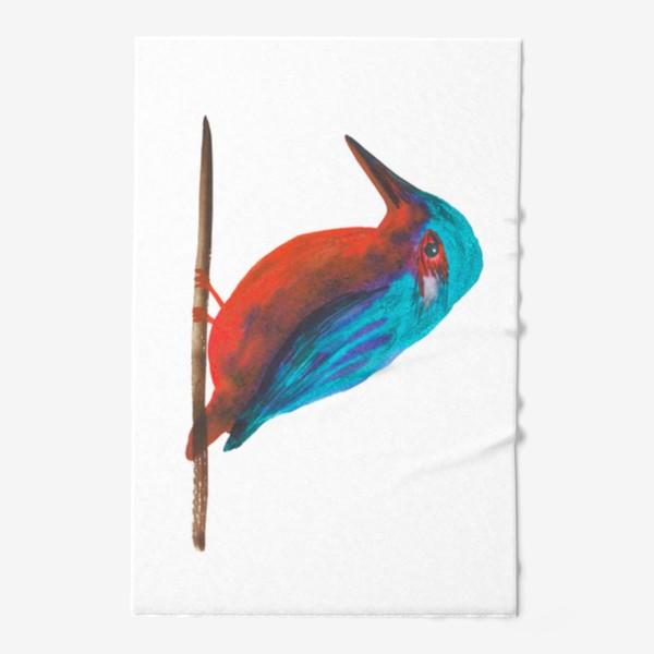 Полотенце «Птица Зимародок»