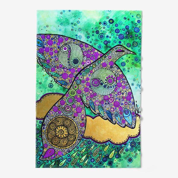 Полотенце «Птица дождя»
