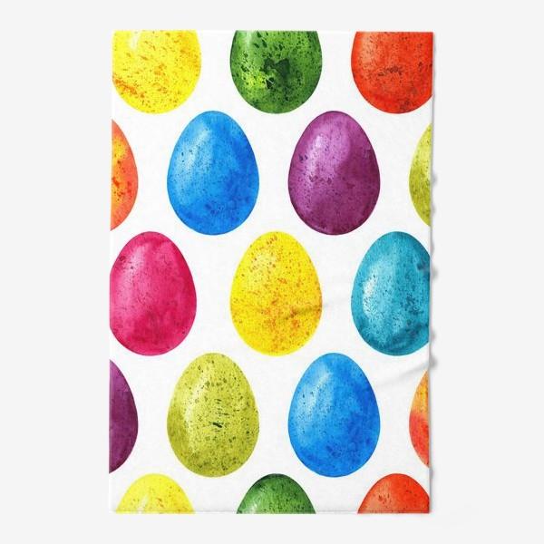 Полотенце «Акварельные пасхальные яйца»
