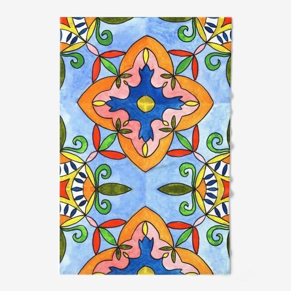 Полотенце «Испанская плитка»