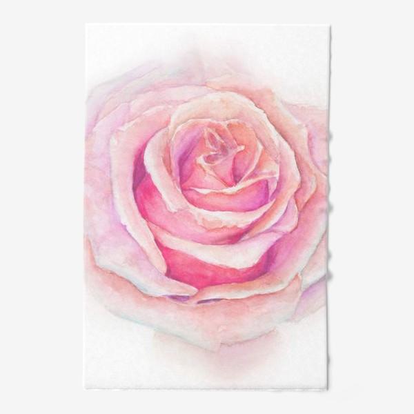 Полотенце «Роза нежная, как облако»