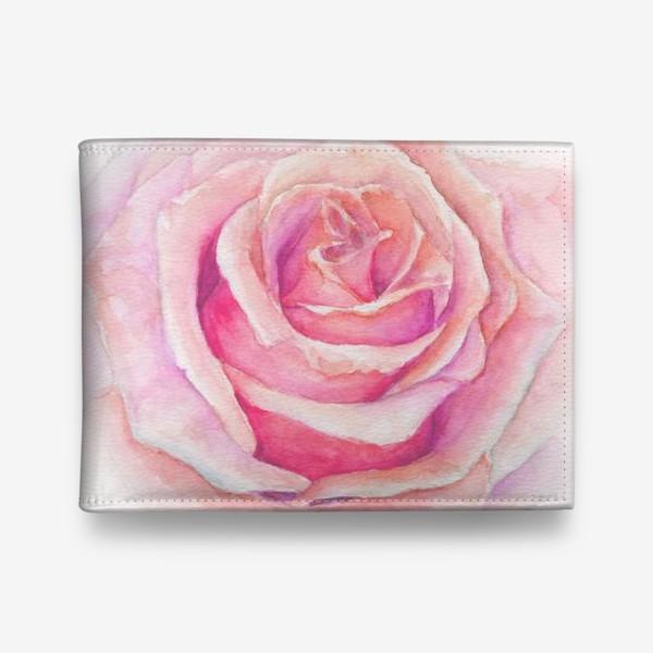 Кошелек «Роза нежная, как облако»