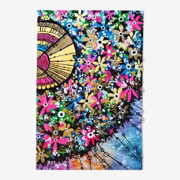 Полотенце «Солнце и цветы»