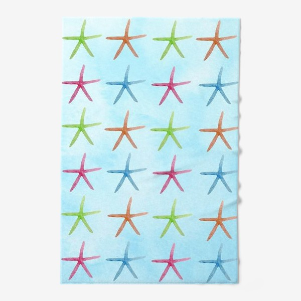 Полотенце «Морские звезды»