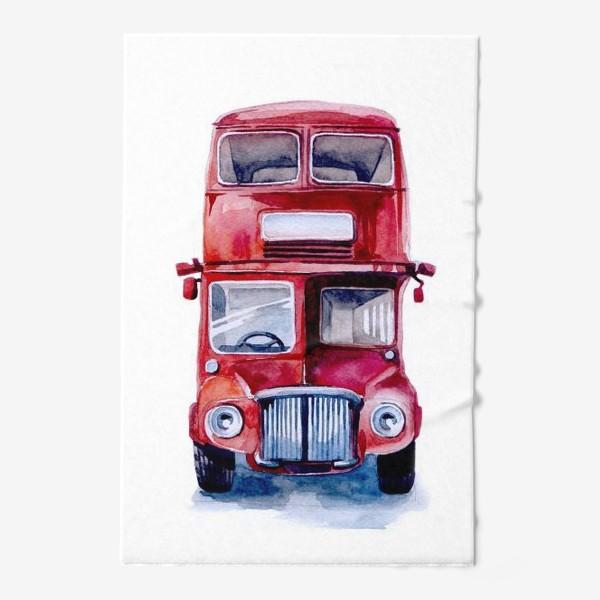 Полотенце «London bus - 2»