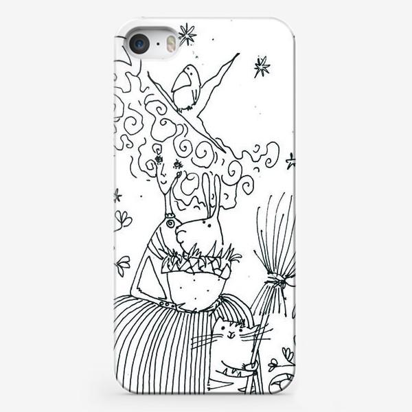 Чехол iPhone «Колдунья»