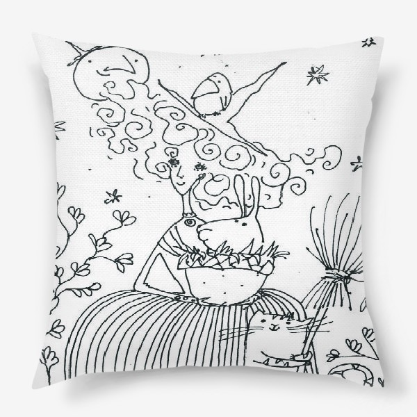Подушка «Колдунья»
