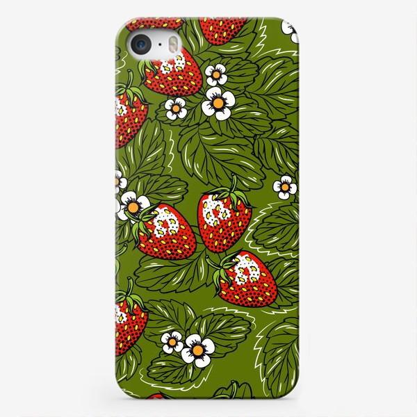 Чехол iPhone «Земляничная поляна»