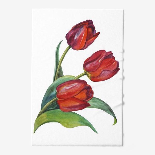Полотенце «Тюльпаны»