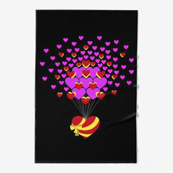 Полотенце «Цветущее сердце»
