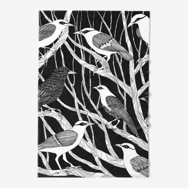 Полотенце «Птицы»