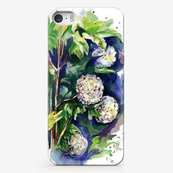 Чехол iPhone «Цветы калины»