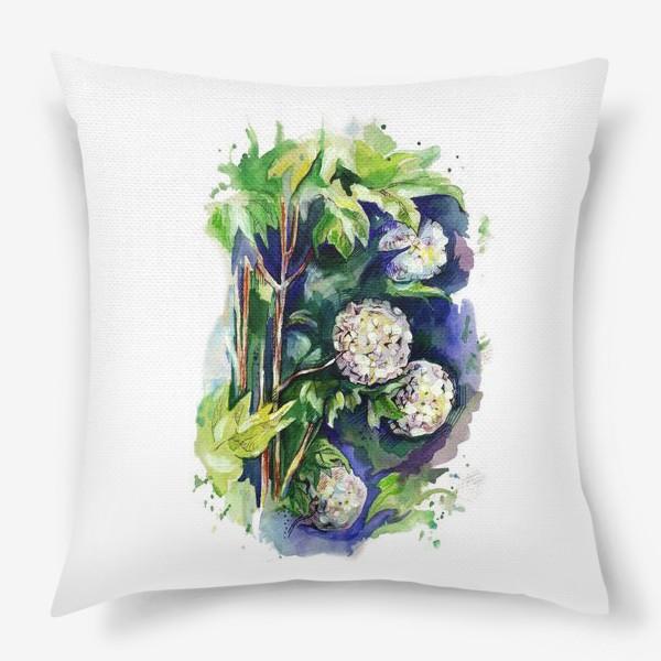 Подушка «Цветы калины»