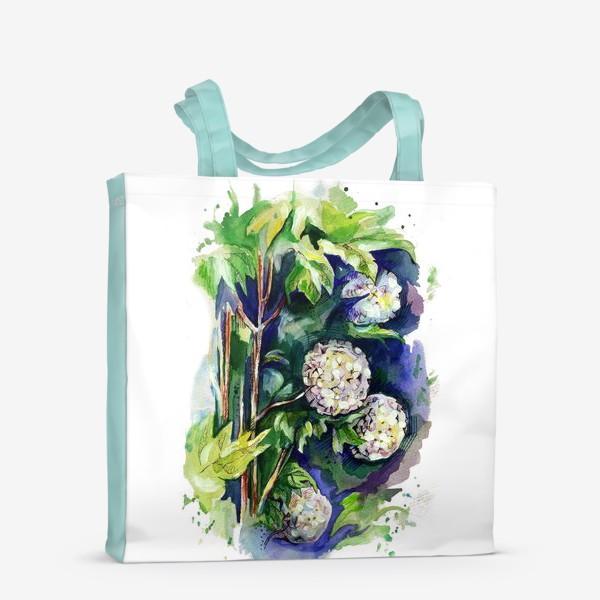 Сумка-шоппер «Цветы калины»