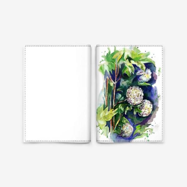 Обложка для паспорта «Цветы калины»