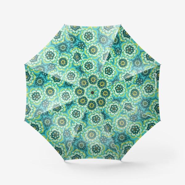Зонт «Забавные цветы»