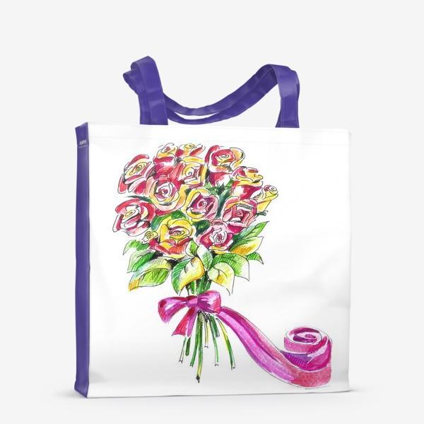Сумка-шоппер «Букет роз»