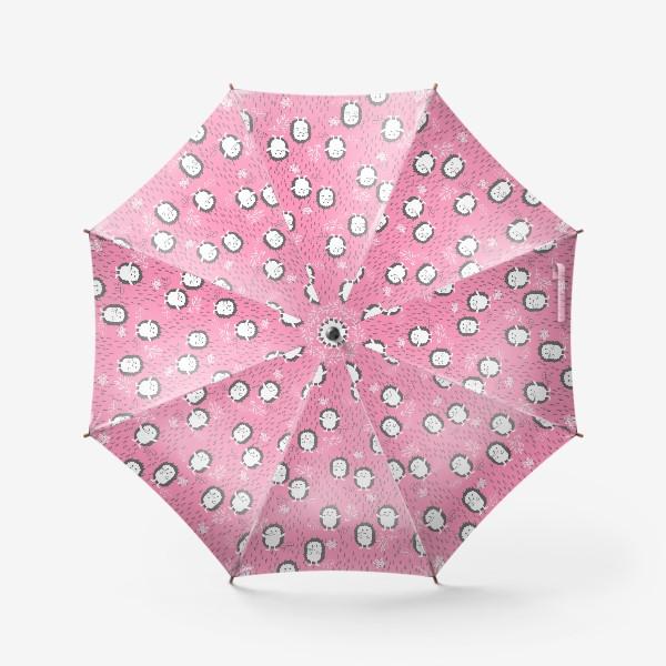 Зонт «Ежики гуляют под дождем»