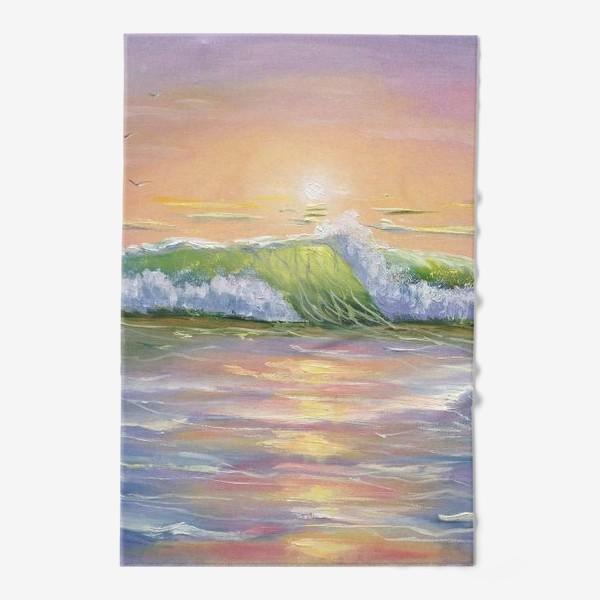 Полотенце «Восход над морем»