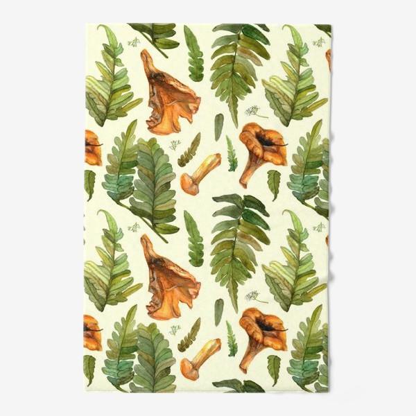 Полотенце «Лисички и папоротник»