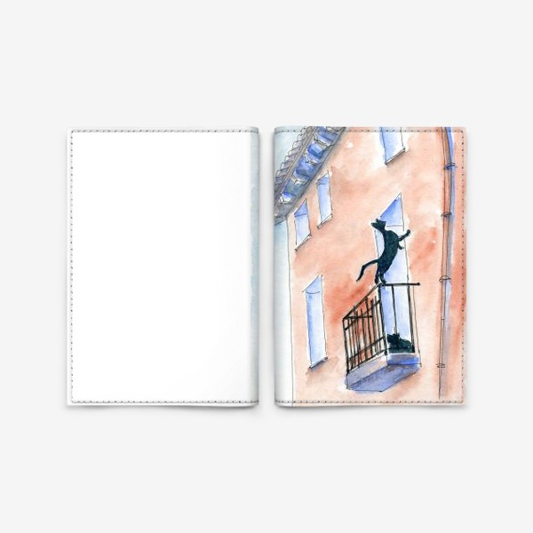 Обложка для паспорта «Любопытство»
