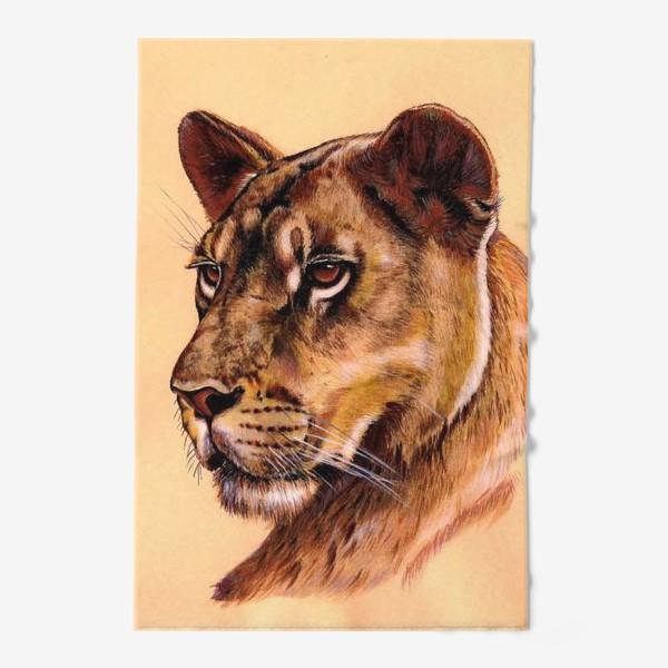 Полотенце «Львица »