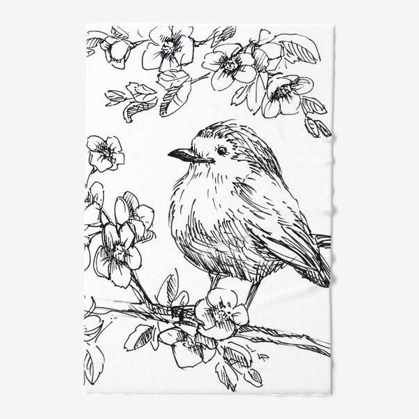 Полотенце «Птичка»