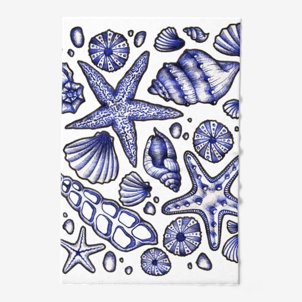 Полотенце «Морские ракушки»