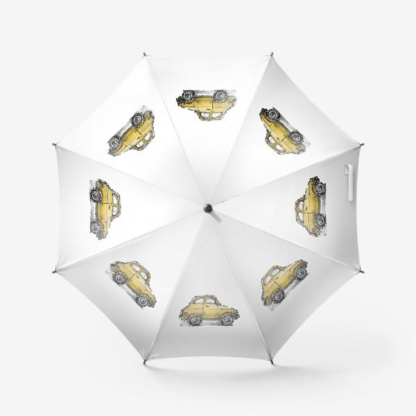 Зонт «желтая машина»