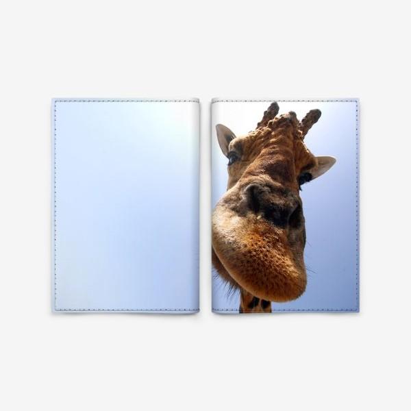 Обложка для паспорта «Жираф 2»