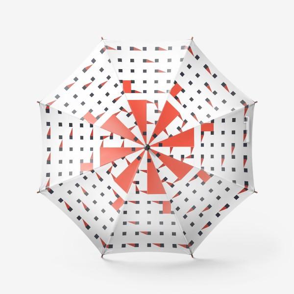 Зонт «плетеный паттерн»
