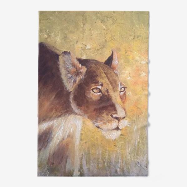 Полотенце «Львица»