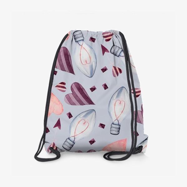 Рюкзак «Паттерн. Сердечки»