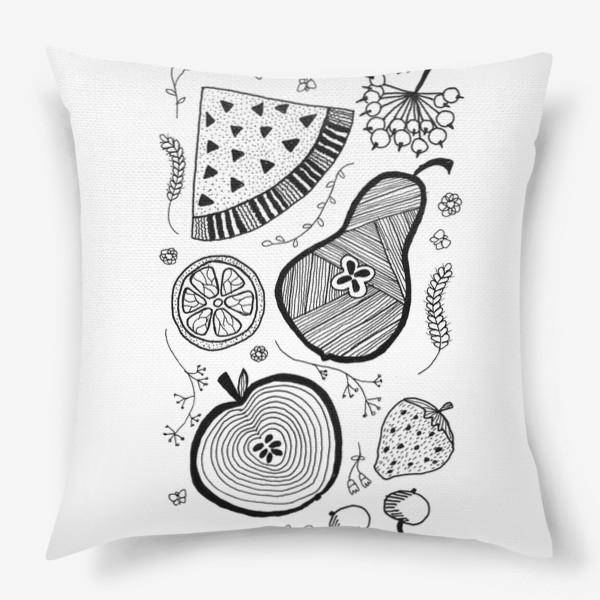 Подушка «фруктовый салат»