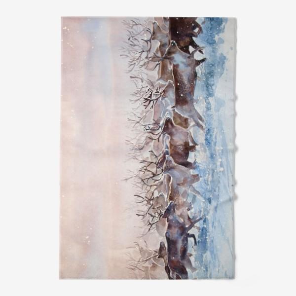 Полотенце «Северные олени»