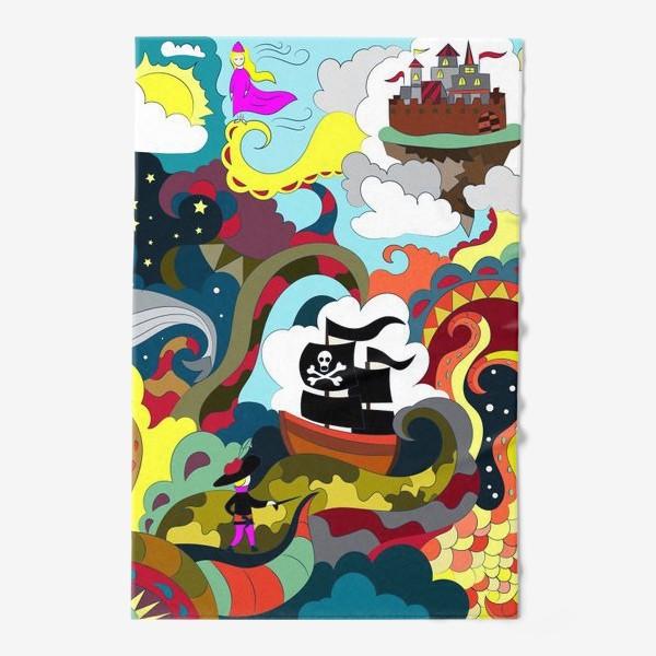 Полотенце «Пиратская история»