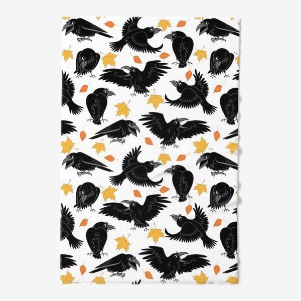 Полотенце «вороны»