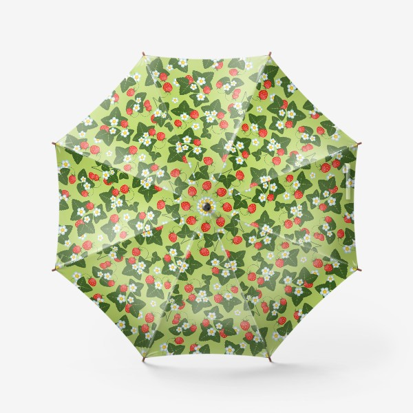Зонт «землянички»