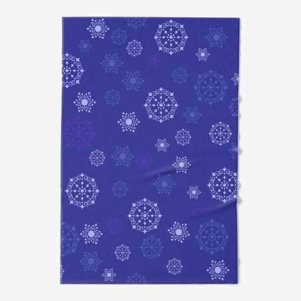 Полотенце «снежинки»