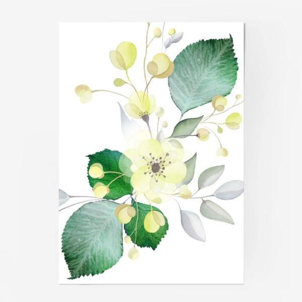 Постер «Нежные цветы»