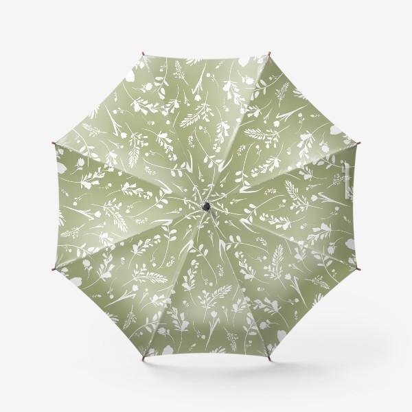 Зонт «Гербарий»