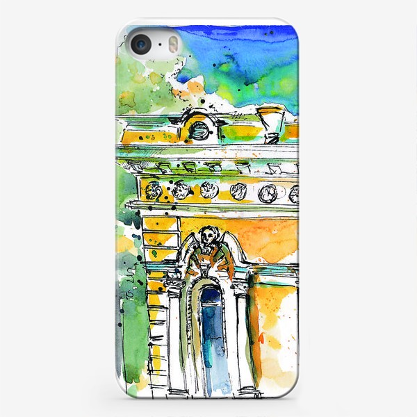 Чехол iPhone «Петербург фасады»