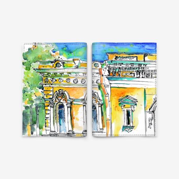 Обложка для паспорта «Петербург фасады»