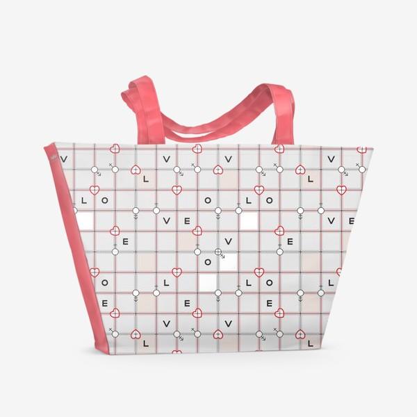 Пляжная сумка «Love_03»