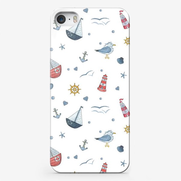 Чехол iPhone «Nautical»