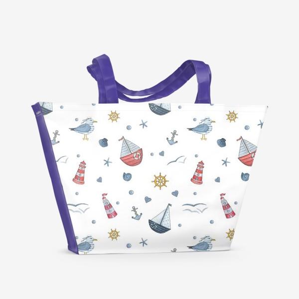 Пляжная сумка «Nautical»