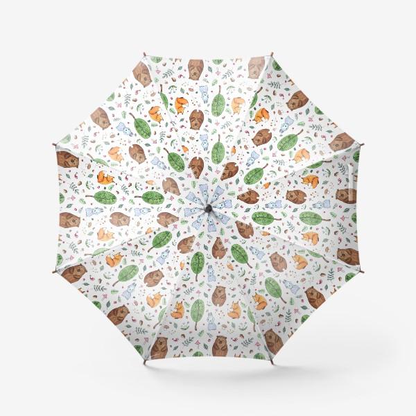 Зонт «Мишка и друзья»