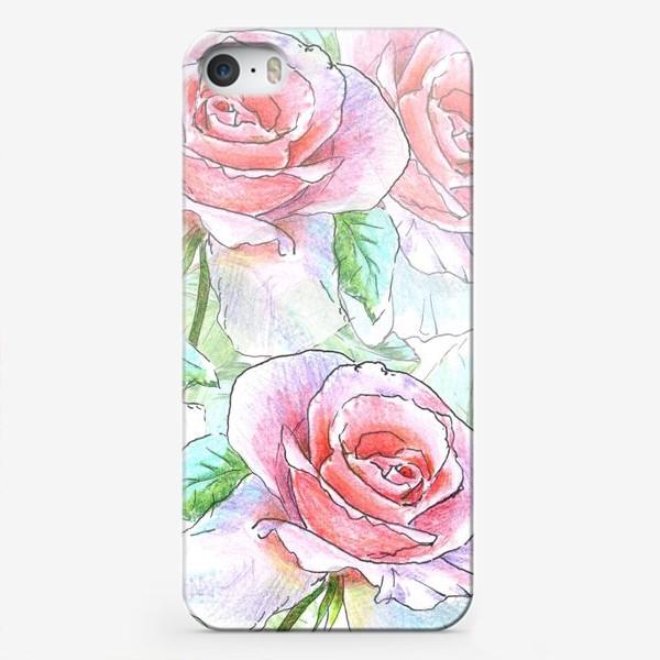 Чехол iPhone «букет роз»